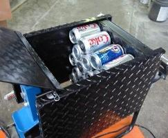 Electric Soda Pop Beer Can Crusher